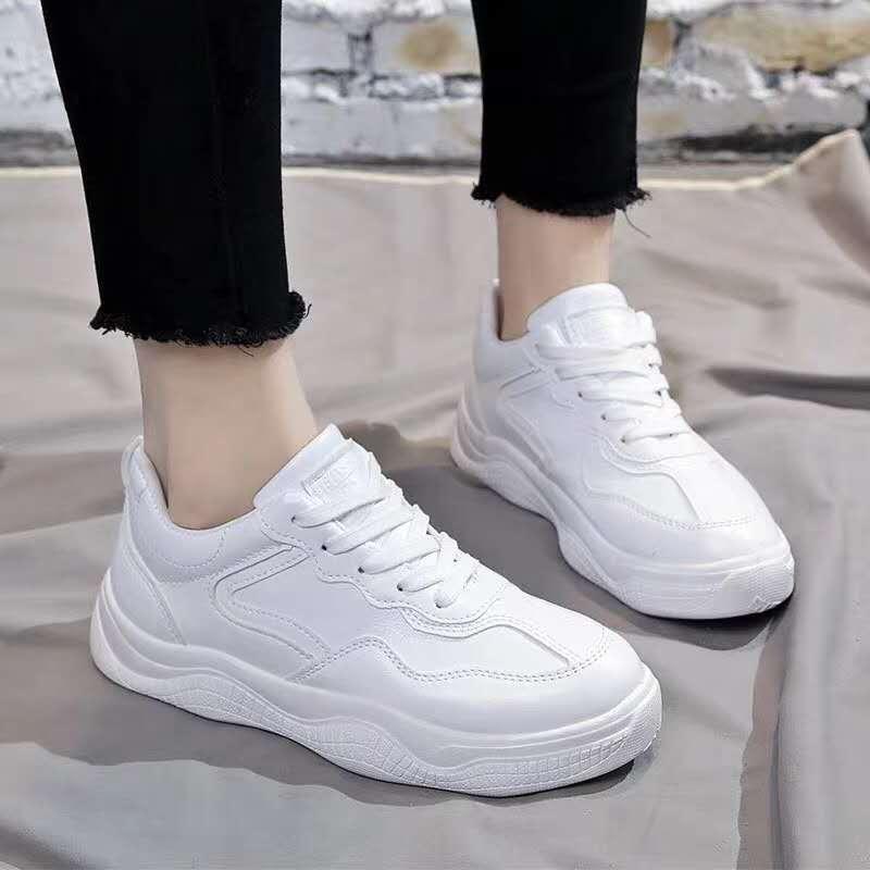 GS Korean Fashion Rubber White School