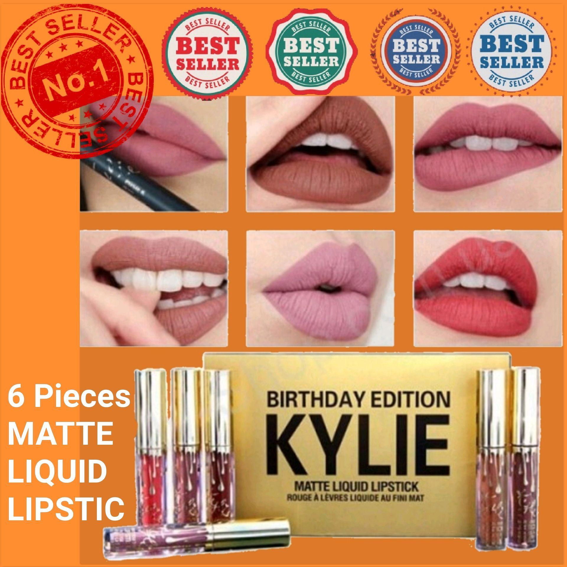 6 pcs Kylie Matte Liquid Lipstick Philippines