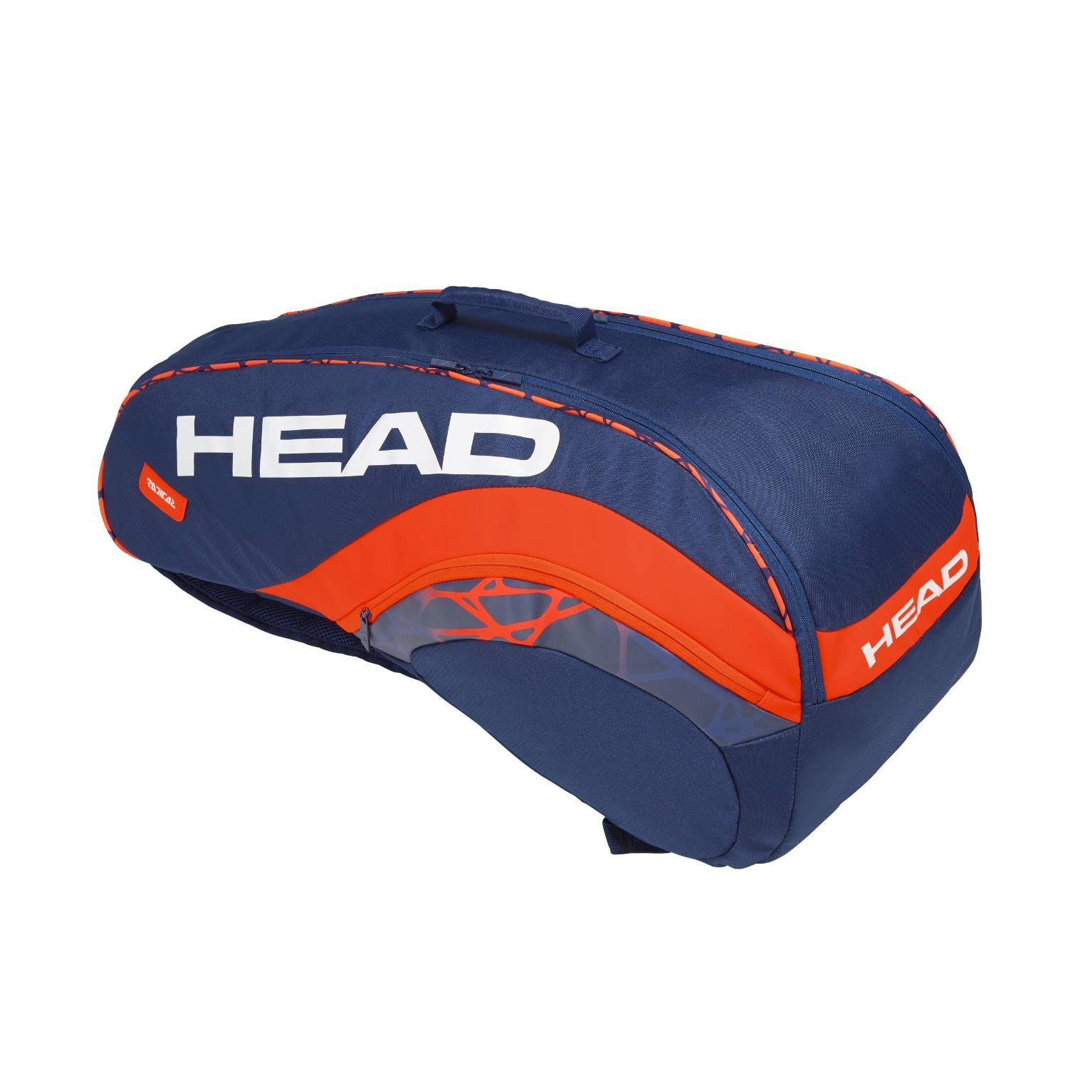 Head Radical Combi 6 Racket Tennis Bag By Head.