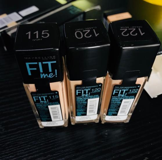 Fit Me Matte and Poreless Foundation 30ml Philippines