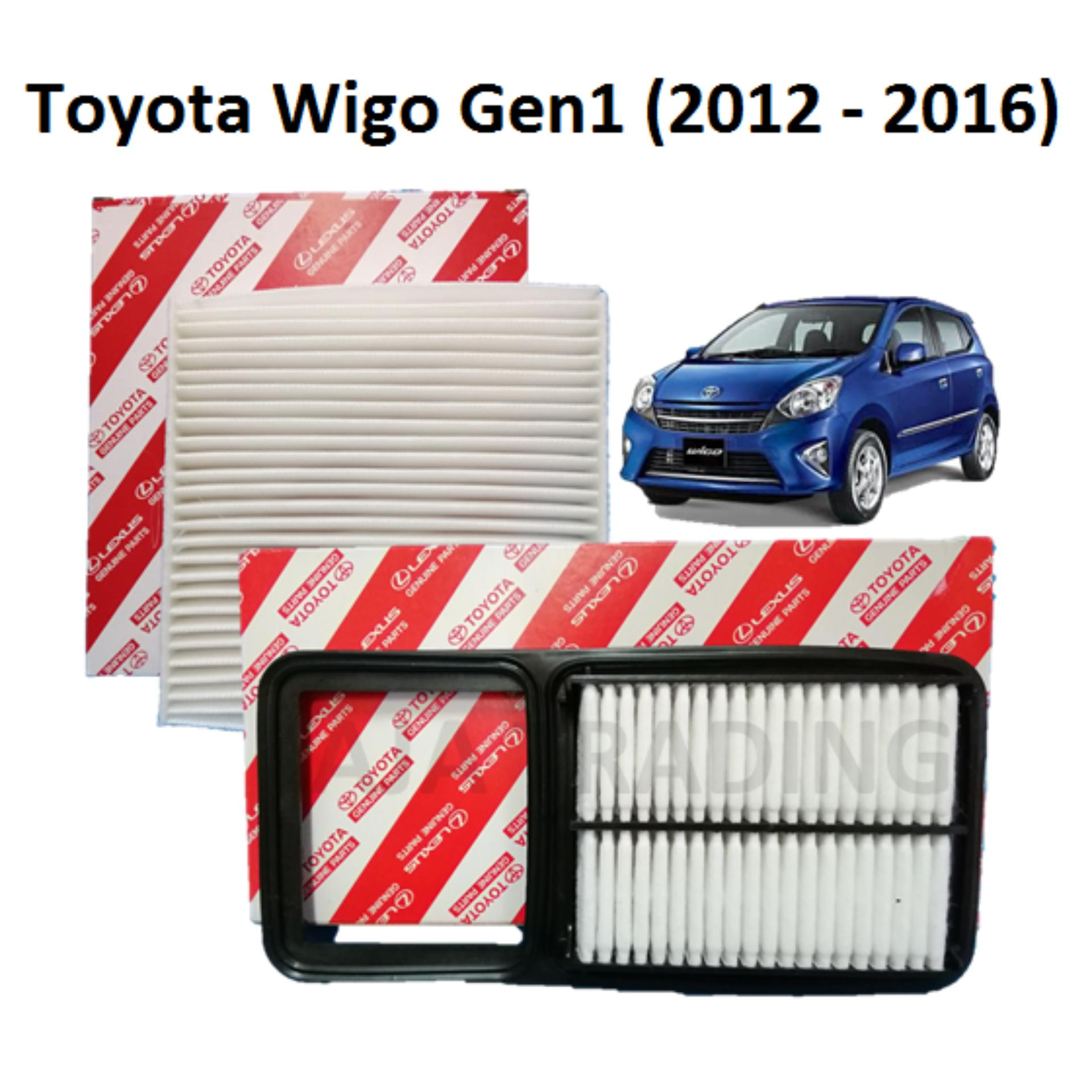 Car Parts Replacements For Sale Auto Spares Online Corlor 20005 Toyota Fuse Box Combo Air Filter And Cabin Wigo Gen1 2012 2016