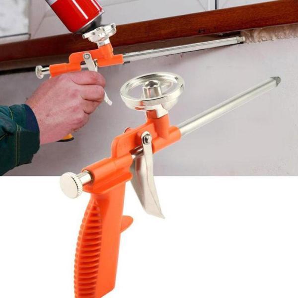 Professional PU Sealant Dispensing Expanding Foam Sprayer Sealing Filling For Heavy Applicator Tool Duty Insulating J4G2
