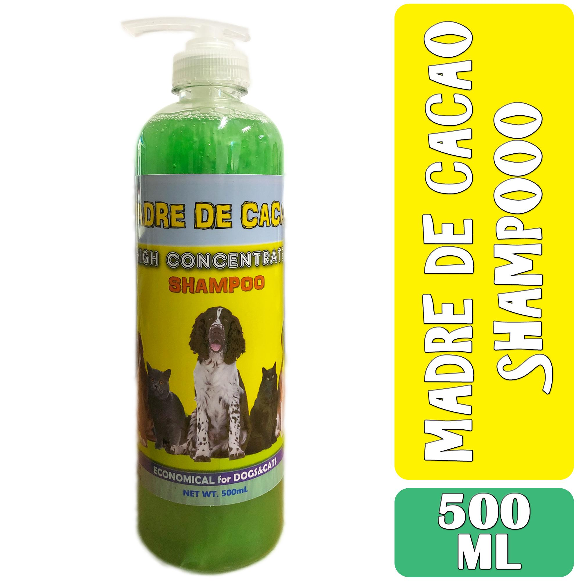 Madre De Cacao Shampoo With Guava Extract Supplier 500 Ml For Dogs And Cats, Anti-Mange, Anti-Ticks, Anti-Bacterial By Madre De Cacao Products.
