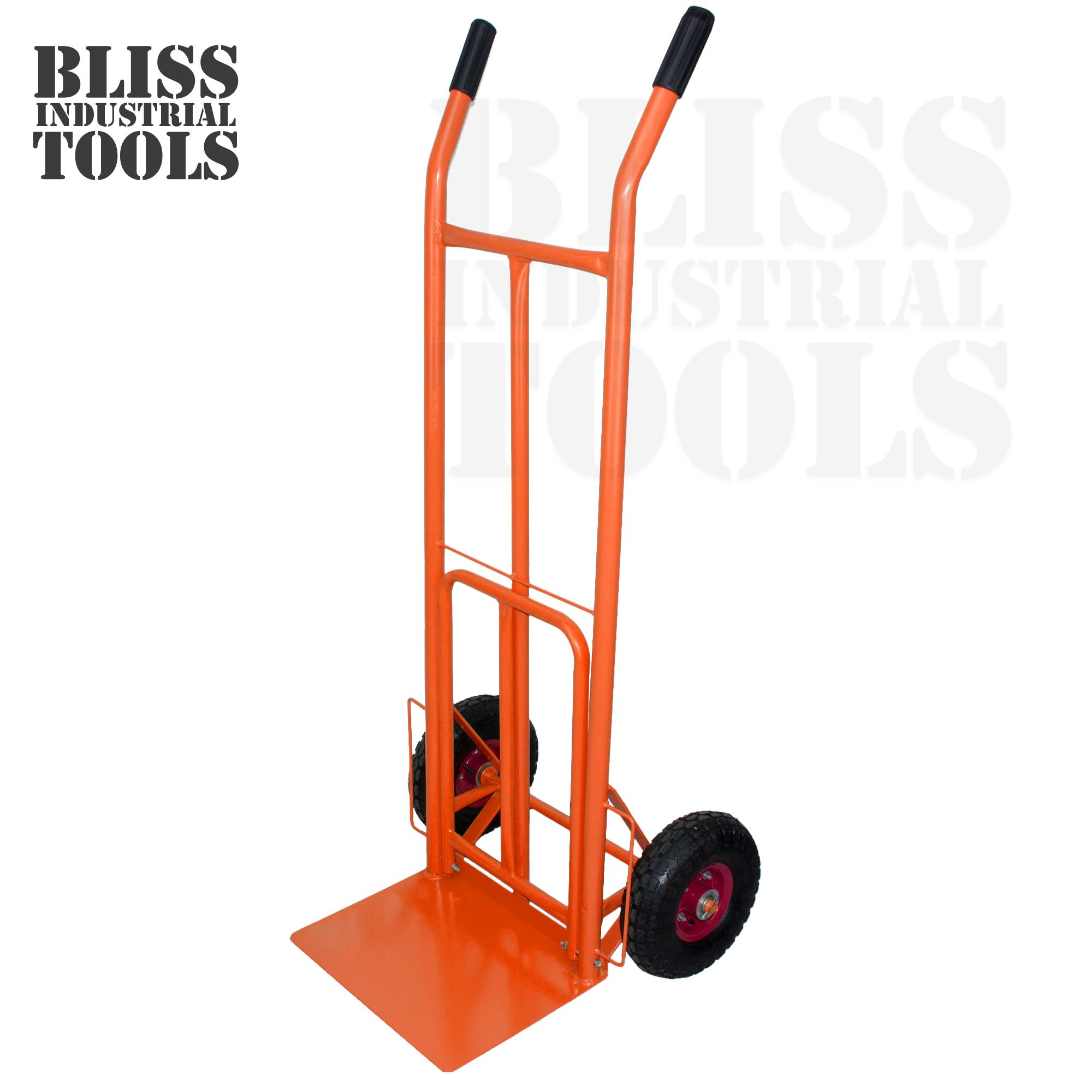 B.i.t. Classic Heavy Duty Hand Truck Wheeler With Foldable Platform By Bliss Industrial Tools.
