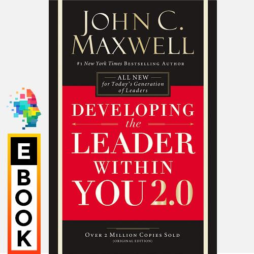 Developing The Leader Within You 2.0 - Digital Ebook By Audiobooks.