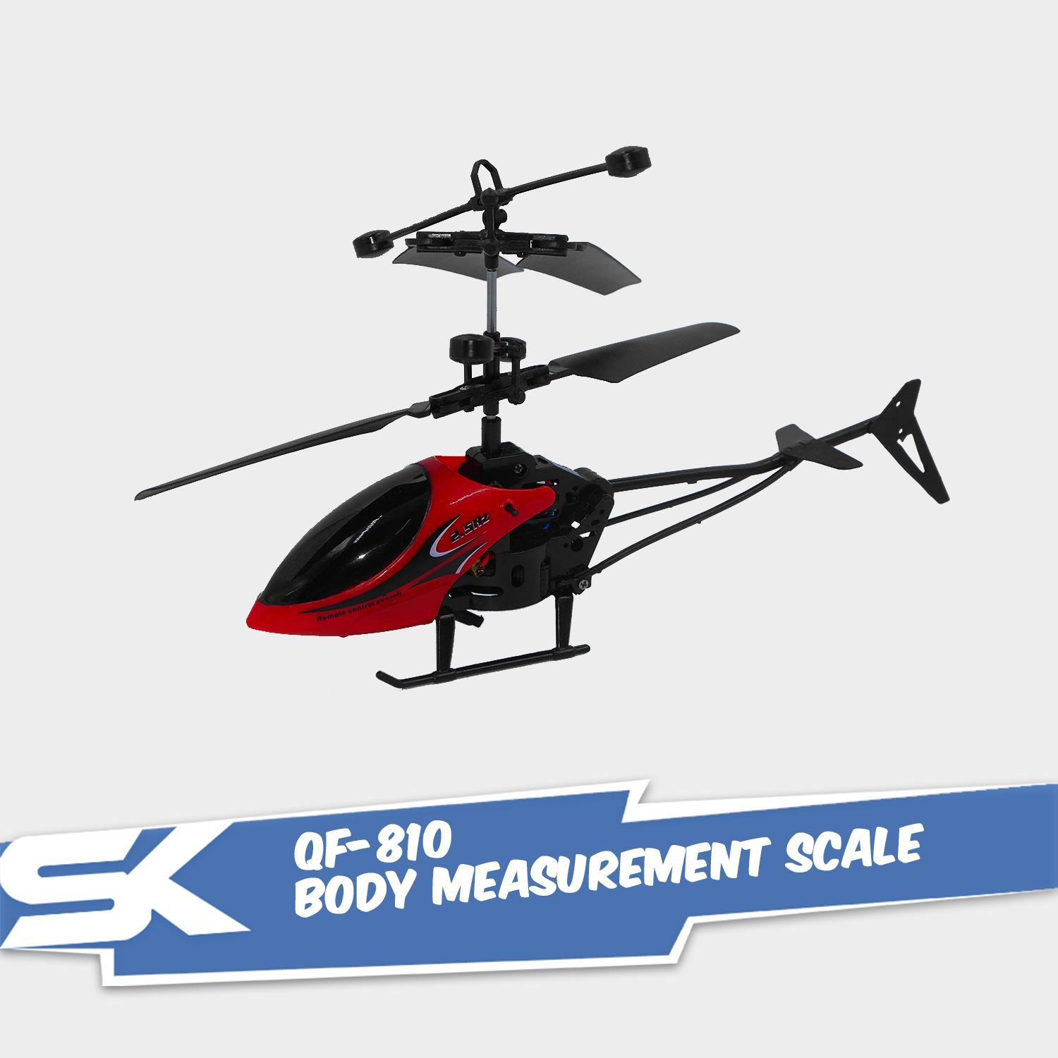 Qf-810 2.5 Super Speed Rc Helicopter By Steve Kyle Marketing Corporation.