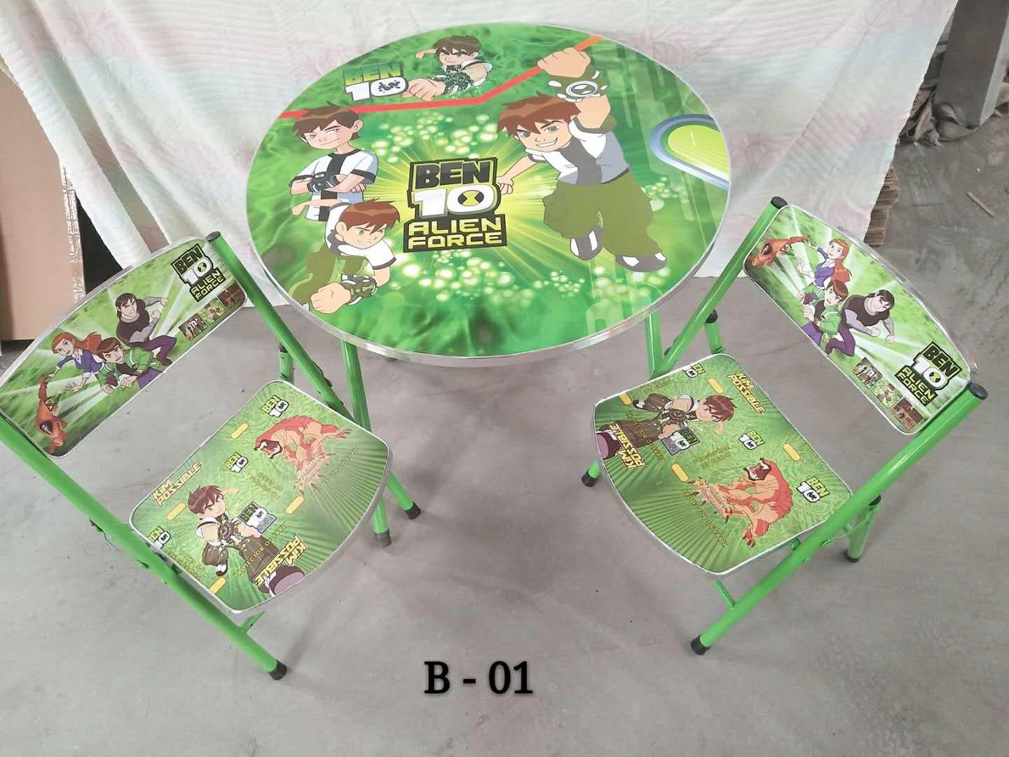 KIDS STUDY TABLE WITH 2 CHAIRS KIDS TABLE AND CHAIR SET KIDDIE TABLE SET STUDY TABLE WITH CHAIR FOR KIDS WRITING TABLE - BEN 10 | Lazada PH