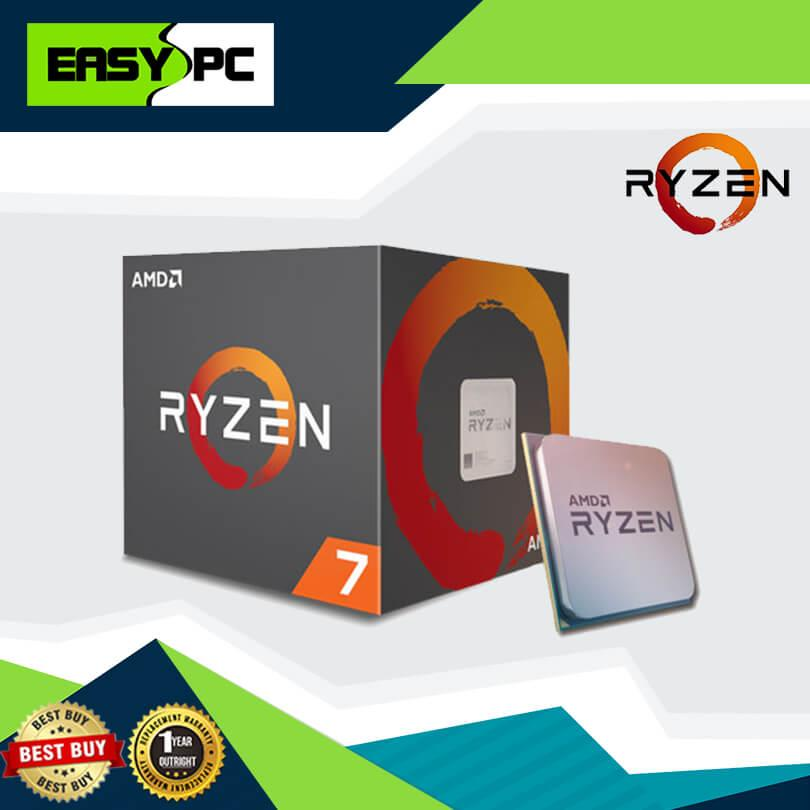 Amd Ryzen 7 2700 Processor Socket Am4 4 1ghz with Wraith Spire LED Cooler,  Gaming Processor, For Multitasking and Graphic Designing Can play Ultra