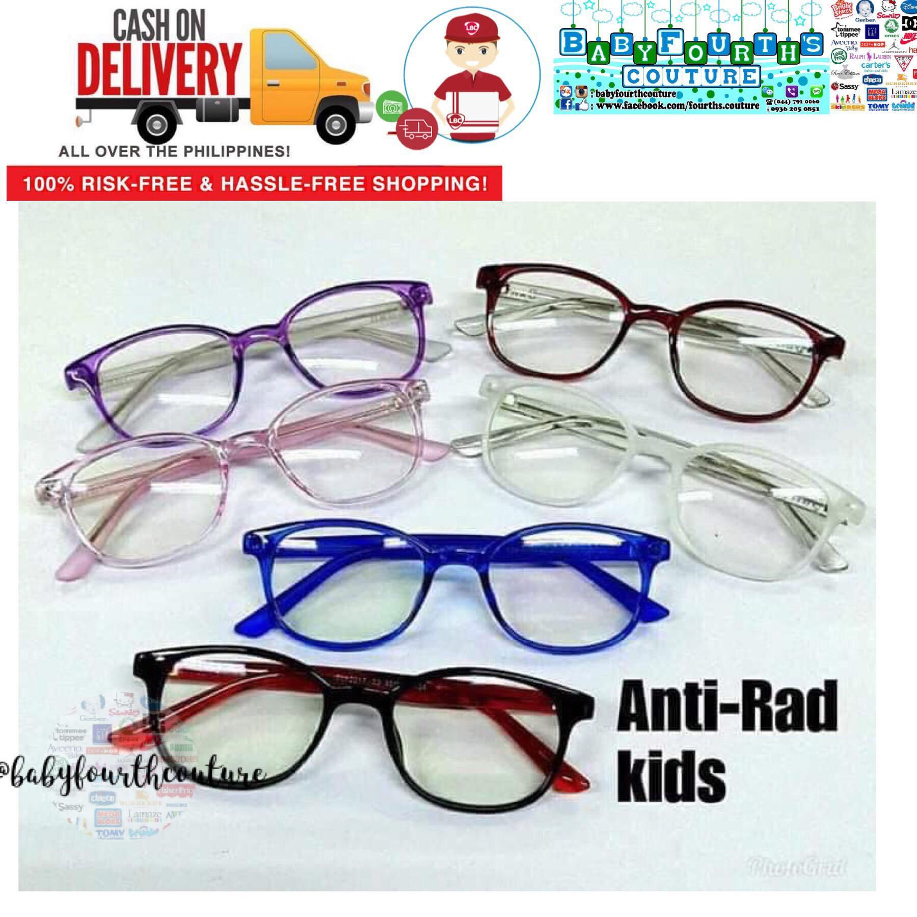 Kids Fashionable Round Anti Radiation (gadgets) Eyewear By Baby Fourth Couture.