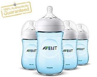 Philips Avent Natural 4pack - 9oz (new Spiral Nipple) By Baby&tots Wearhouse.
