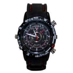 2MP Spy Camera Watch DVR with Built-in 8GB Memory