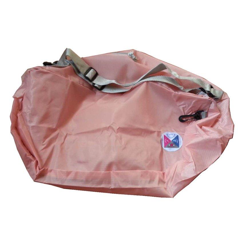 3 Ways Foldable Bag Pack (Peach) - thumbnail