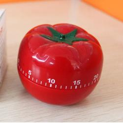 1-60min 360 Degree Fashion Cute Indoor Tomato Mechanical Countdown Timer (Intl)