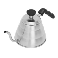 1.0L Coffee Tea Drip Kettle Teapot Pot Goose Neck Stainless Steel Household Heat - intl