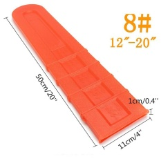 "12""-20"" Universal Orange Chainsaw Bar Cover Scabbard Protector Guide Plate - intl Philippines"