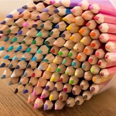 120 Color Pencil Art Colourful Lead Painting Water Tu Se The Secret Garden