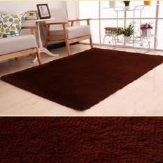 PHP 1.399 120x160cm Rectangular Plush Shaggy Thicken Soft Carpet Rug Anti- skid ...