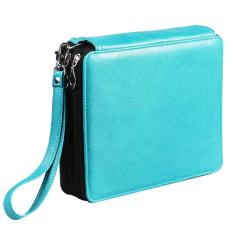 124 Slots PU Leather 3 Tiers Pencil Case for Art Supplies Colored Pencils Writing Painting Pen