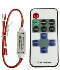 12V RF Wireless Remote 11 KEYS Switch Controller Dimmer LED Strip Light - intl