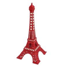 13cm Colorful Paris Souvenir Craft Eiffel Tower Metal Model Home Decoration Purple - intlPHP519. PHP 519