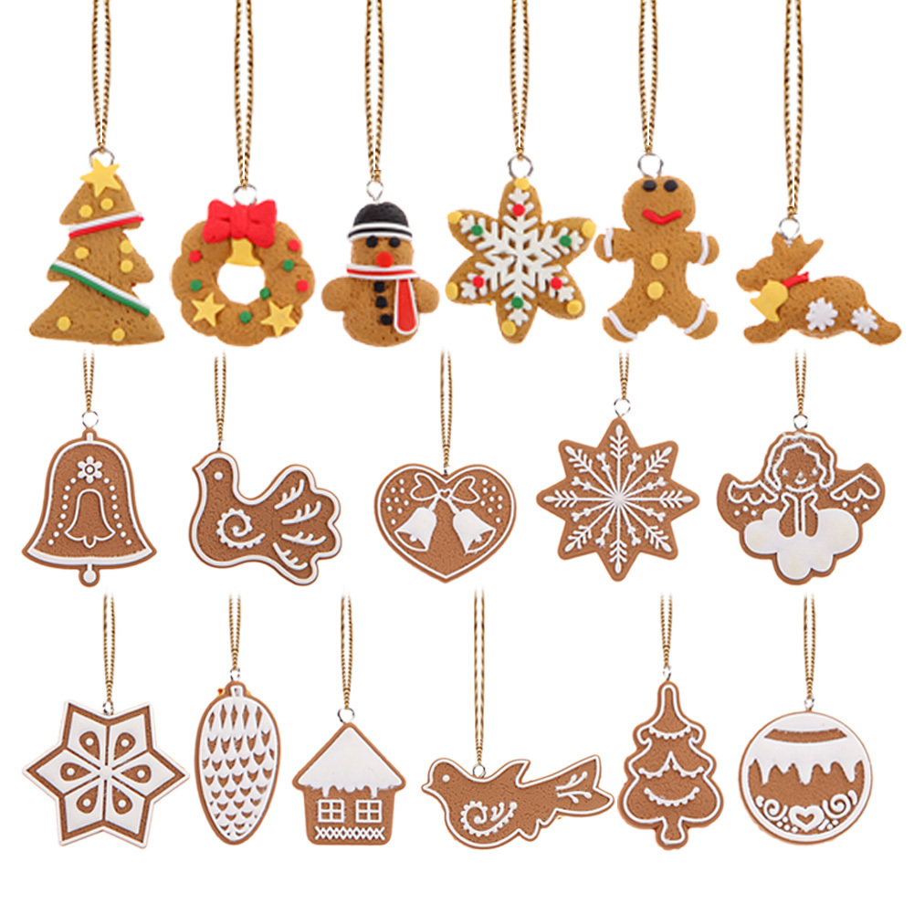 17Pcs Animal Snowflake Biscuits CHRISTMAS Hand Made Polymer Clay product preview, discount at cheapest price