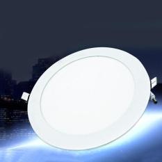 18W LED Round Ceiling Flat Panel Down Light Lamp Ultra Slim Cool White 6500K - intl