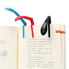 1x Clip-On Book Reading Light Folding Led Book Lights With Battery - Intl By Yoursmile Store.