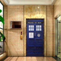 Sales Price 203cm 76cm Doctor Who Wall Decor Sticker Tardis