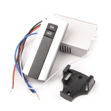 220V 1 Way ON/OFF Wireless Digital Remote Control Switch for Lamp & Light YB004-SZ+ - thumbnail 2