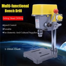 220V 450W Electric Bench Drill Press Stand Workbench Repair Tool For Drilling - intl