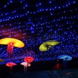 22mSolar Power 200LED String Fairy Light Outdoor For Christmas Blue - thumbnail 4