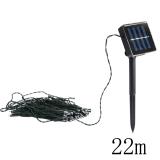 22mSolar Power 200LED String Fairy Light Outdoor For Christmas Blue - thumbnail 2