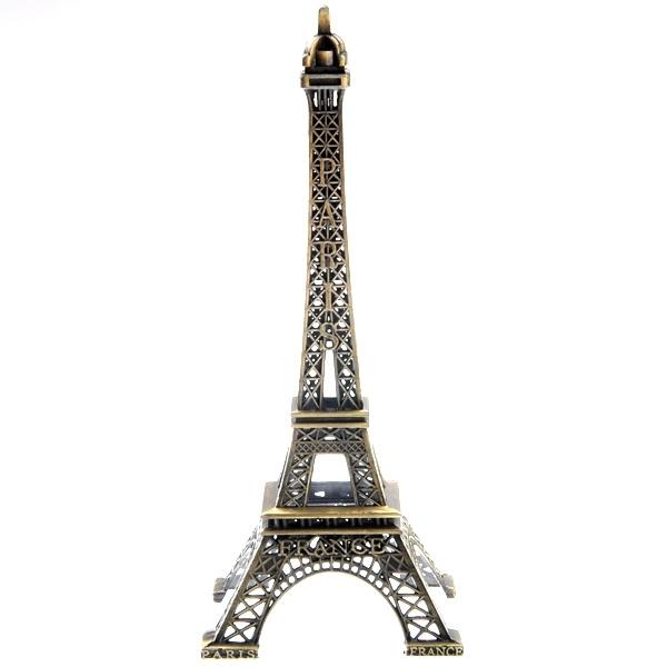 25CM Metal Paris Eiffel Tower Model Souvenir Decoration