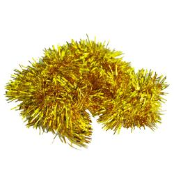 2m (6.5 Ft) Christmas Tinsel Tree Decorations Tinsel Garland (gold) - Intl