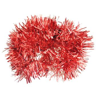 2m (6.5 Ft) Christmas Tinsel Tree Decorations Tinsel Garland (red) - Intl