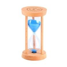 3 Minutes Wooden Sand Sandglass Hourglass Timer Clock Home Decor Gift - intl