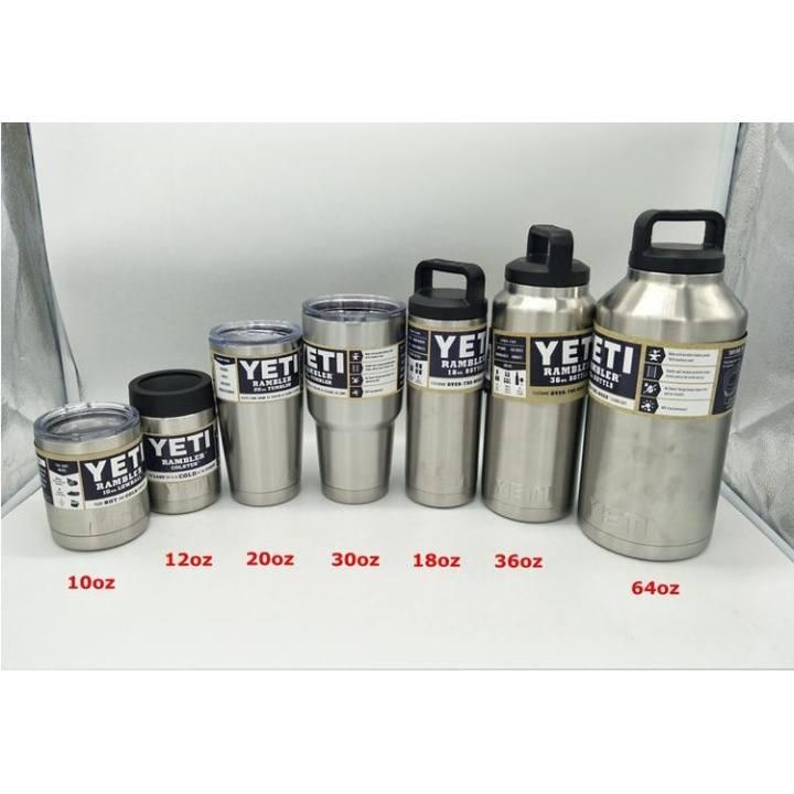 e4c7a1851c1 304 Stainless Steel Yeti Rambler Tumbler 36 Oz YETI Coolers Cars Beer Mug  Large Capacity Mug (36 Oz) - intl | Lazada PH