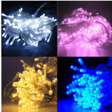 30M 300 LED Christmas Tree Party Wedding Fairy String Light Lamp Blue - thumbnail 5