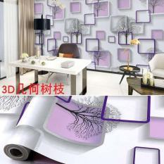 3D Wall Clothing Self Adhesive TV Background Childrens Room Waterproof Living Bedroom Wallpaper