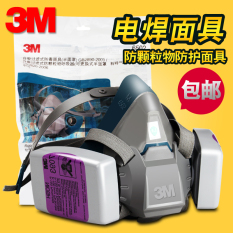 3M 2091 Filter Cotton with 6200 Mask
