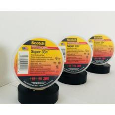 3M Scotch Super 33+ Premium Vinyl Electrical Tape (Black