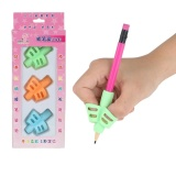 3PCS//Set Children Pencil Holder Pen Writing Aid Grip Posture Correction Tool New