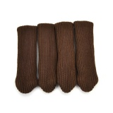 Furniture Legs 4pcs Furniture Table Chair Foot Leg Knit Socks Sleeve Cover Pads Floor Protector Furniture