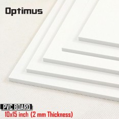 5 Pieces White Pvc Illustration Board 10 X 15 Inch 2 Mm Thickness (white) By Latest Gadget.