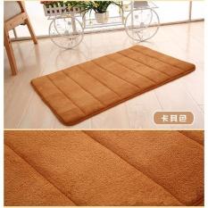 50x80cm High Quality Slip resistant Mats Coral Fleece Doormat Anti skid Carpets Kitchen .
