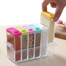6 Pieces Set Portable High Quality Condiment Box By Sky300.