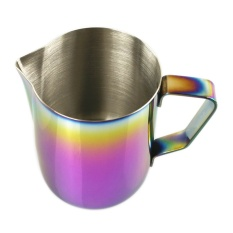 600ml Thicken Stainless Steel Coffee Latte Milk Frothing Cup Pitcher Jug With Handle Colored - Intl By Stoneky
