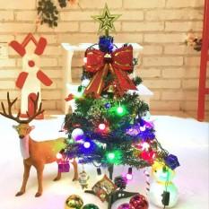 60cm Mini Christmas Tree Decoration LED Light Decor Xmas Home Office Party Gift - intl
