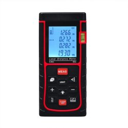 60m /196ft LCD Digital Laser Distance Meter Range Finder MeasureDiastimeter Tape - intl