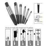 Drill Bits Back To Search Resultstools 4 In 1 Screw Extractor Drill Bits Guide Set Broken Damaged Bolt Remover Easy Out #1 #2 #3 #4 With Case